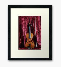 The Fiddle Framed Print