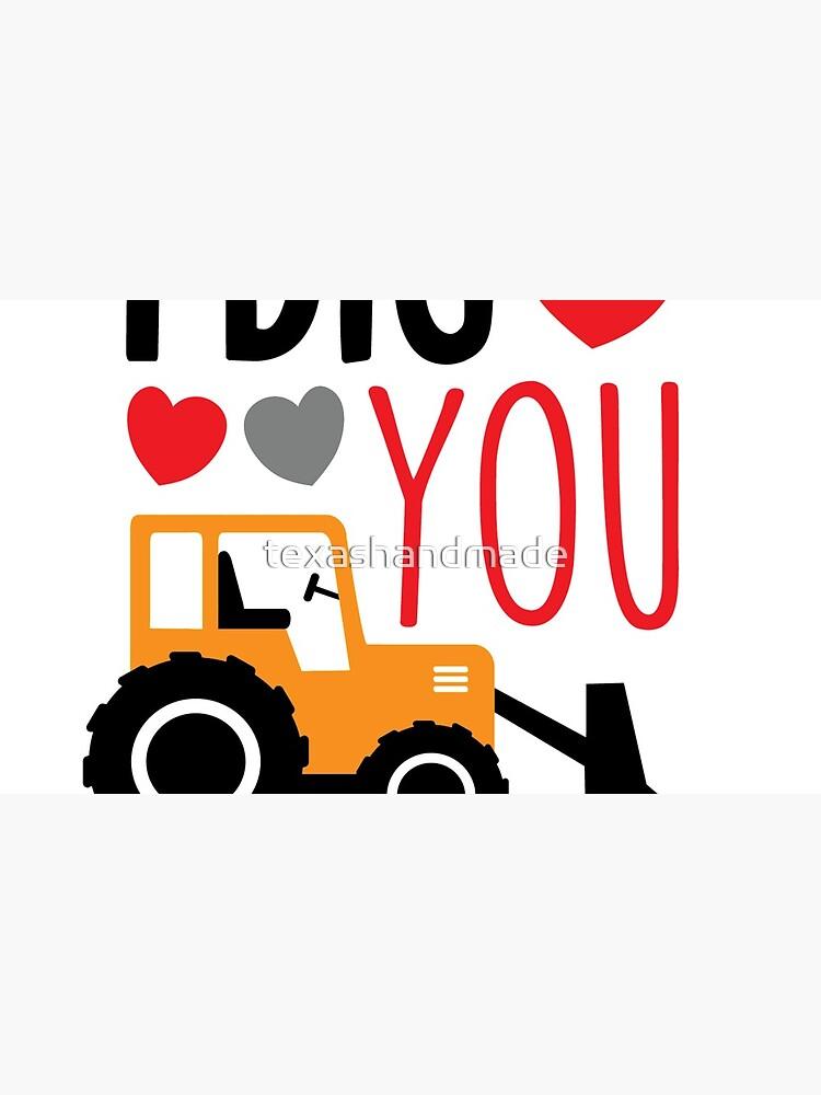I Dig You Kids Valentine Shirt by texashandmade