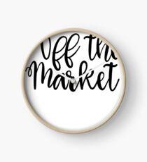 Bride Bachelorette Tshirt Off the market Clock