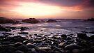 « Sunset & round stones » par Aurelien CURTET