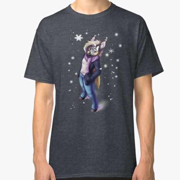 Canvas Swap: Winter Zinnie (2 versions) Classic T-Shirt