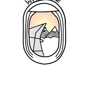 avión vagabundo de gretalohse