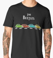 The BeeTleS on Abbey Road Men's Premium T-Shirt