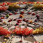 """John Lennon Memorial - """"Strawberry Fields"""" in Central Park - New York City by Kent Burton"""