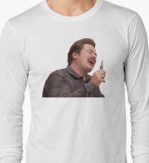 manly man Long Sleeve T-Shirt