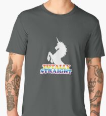 Totally Straight Men's Premium T-Shirt
