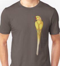 Lutino Indian Ringneck Parakeet Unisex T-Shirt