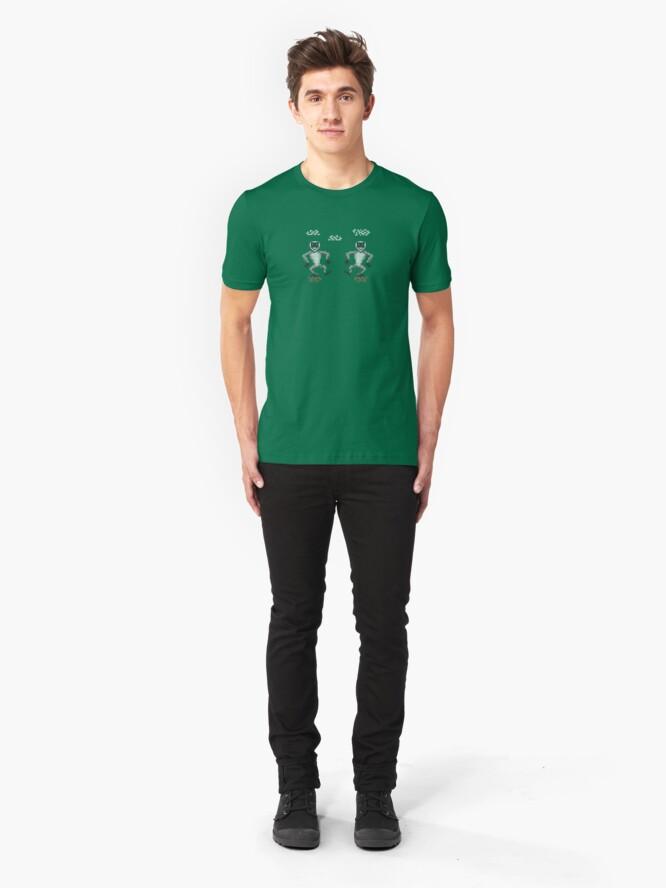 Alternate view of monkey island monkeys Slim Fit T-Shirt