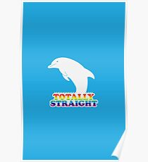 Totally Straight: Dolphin Edition Poster