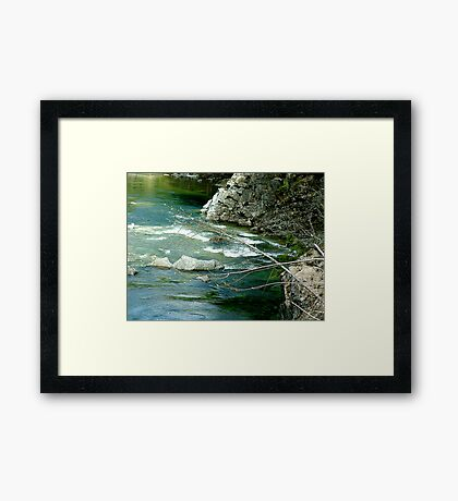 Spring Will Come... Framed Print