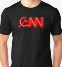 Kommunistisches Nachrichten-Netzwerk-Logo Unisex T-Shirt