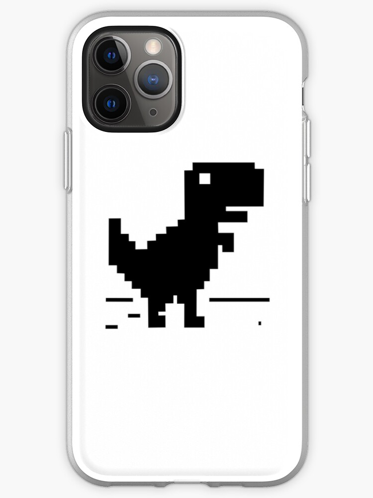 """""""No Internet Connection Dinosaur"""" iPhone Case & Cover by ..."""