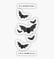 It's Frickin Bats Vine Sticker
