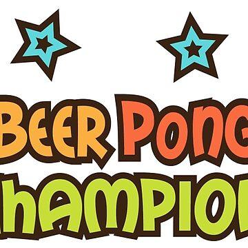 Campeón de Beer pong de Mhea