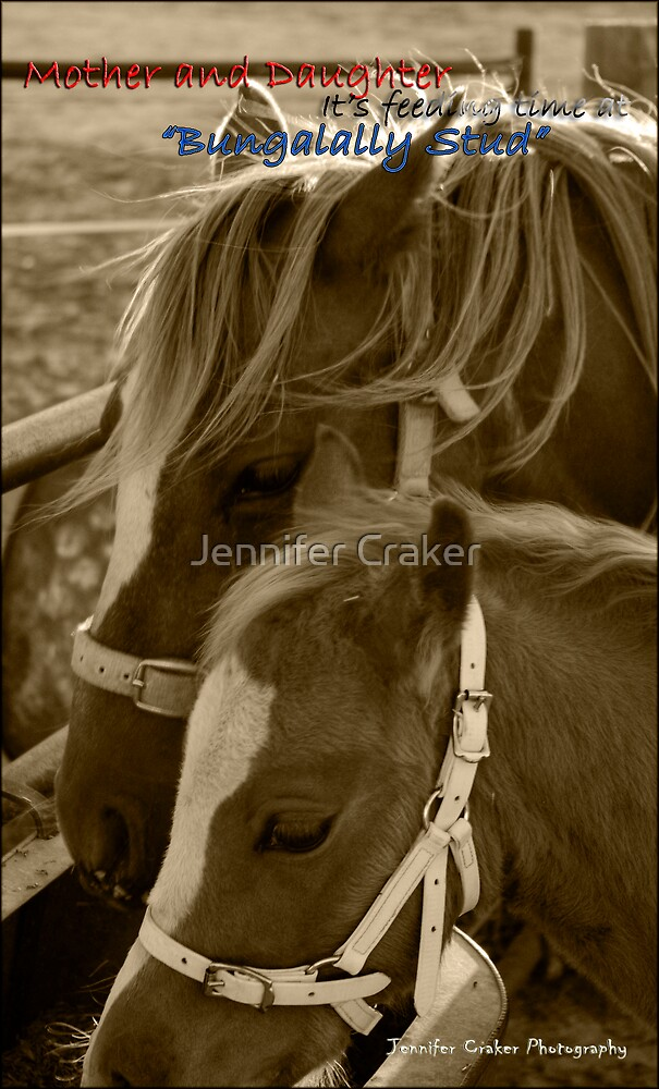 Mother and Daughter by Jennifer Craker