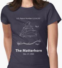 Das Matterhorn Patenthemd Tailliertes T-Shirt