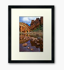Glen Helen Reflections Framed Print