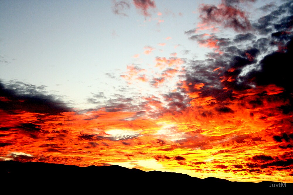 Fire in the Sky by JustM