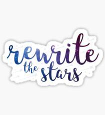 Rewrite the Stars Sticker