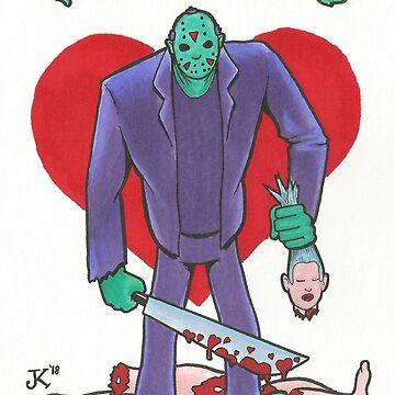 Friday the 13th Valentine by Kohrsfilms