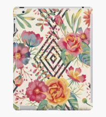 Flower Graphic  iPad Case/Skin