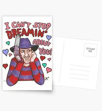 Elm Street Valentine Postcards