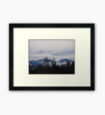Olympics Barely There Framed Print