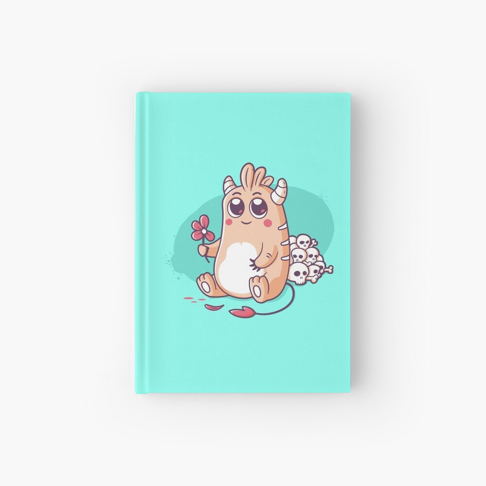 Loves Me Not Hardcover Journal