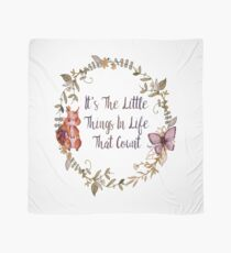 The Little Things In Life  Scarf