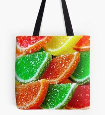 Juicy colorful jelly Tote Bag