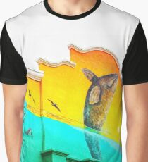 Painted Façade  Graphic T-Shirt