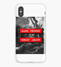 French revolution Marie Antoinette pop art quote political message trump administration social commentary shirt design quote iPhone Case/Skin