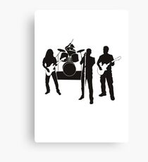 Group music group Canvas Print