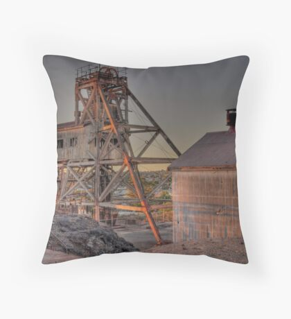 Junction Mine  Throw Pillow