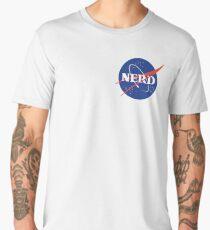 Nasa Nerd Parody Men's Premium T-Shirt