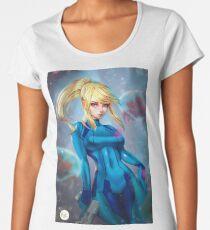 Samus Aran | Fanart Women's Premium T-Shirt
