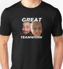 Great teamwork bro Unisex T-Shirt