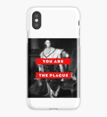 You are the plague king louis the 16th artwork digital design french revolution reference pop artwork tshirt apparel iPhone Case/Skin