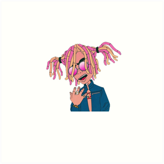 Quot Lil Pump Gucci Gang Quot Art Prints By Leanxans Redbubble