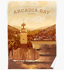 Life is Strange - Arcadia Bay Travel Poster (Sunset) Poster