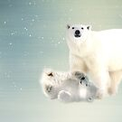 Arctic Family Pano by shalisa
