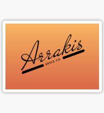 Arrakis Spice Co. Sticker