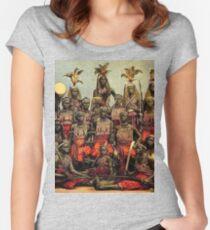 Benin weibliche Krieger - N'Nonmiton Tailliertes Rundhals-Shirt