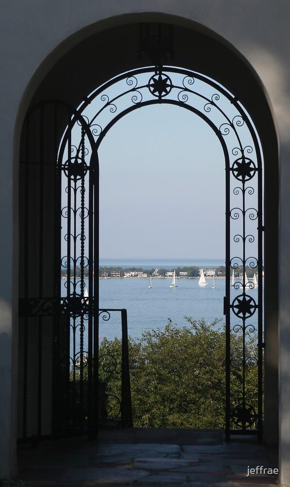 Doorway to Long Island Sound by jeffrae
