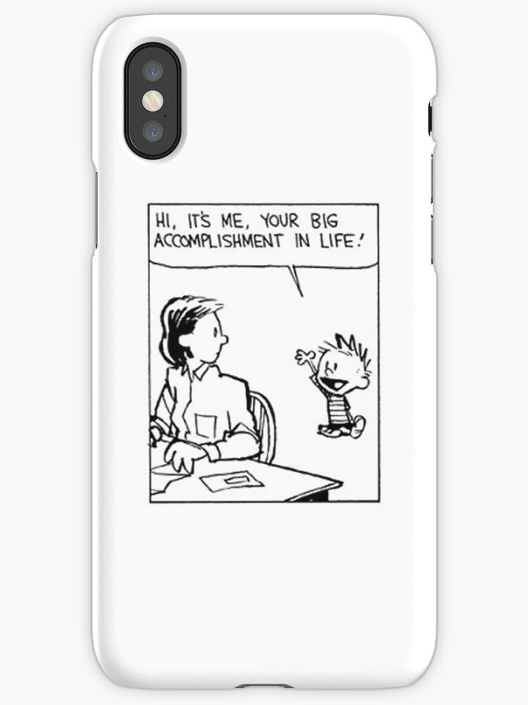 Vinilos y fundas para iPhone «Cómic de Calvin y Hobbes» de Bob Bob ...