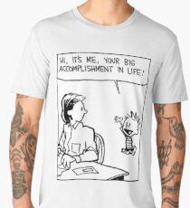 Calvin and Hobbes Comic Strip Men's Premium T-Shirt