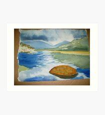 tidal river 2 Art Print