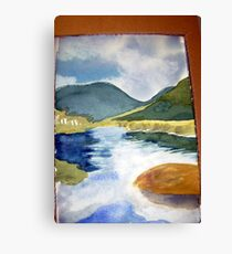 tidal river 1 Canvas Print
