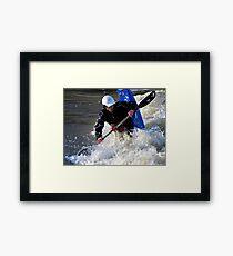 Kayaking on the Long Tom River #1 Framed Print
