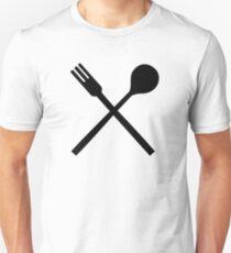 Cutlery spoon fork T-Shirt
